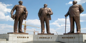 Three-Dikgosi-Monument